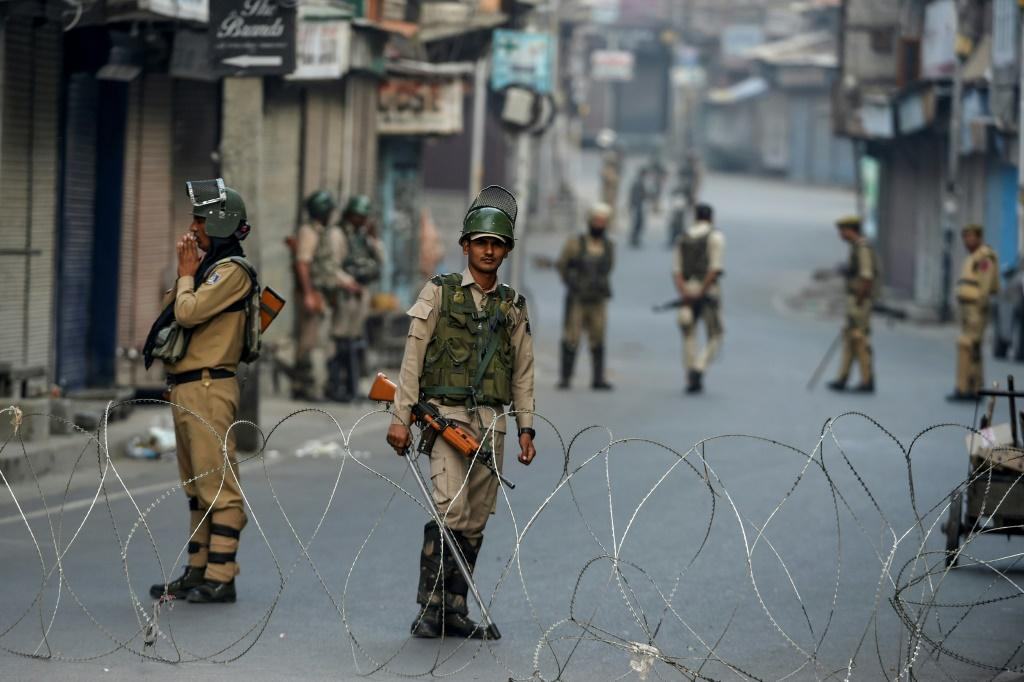 The clampdown has hit businesses across the Kashmir Valley