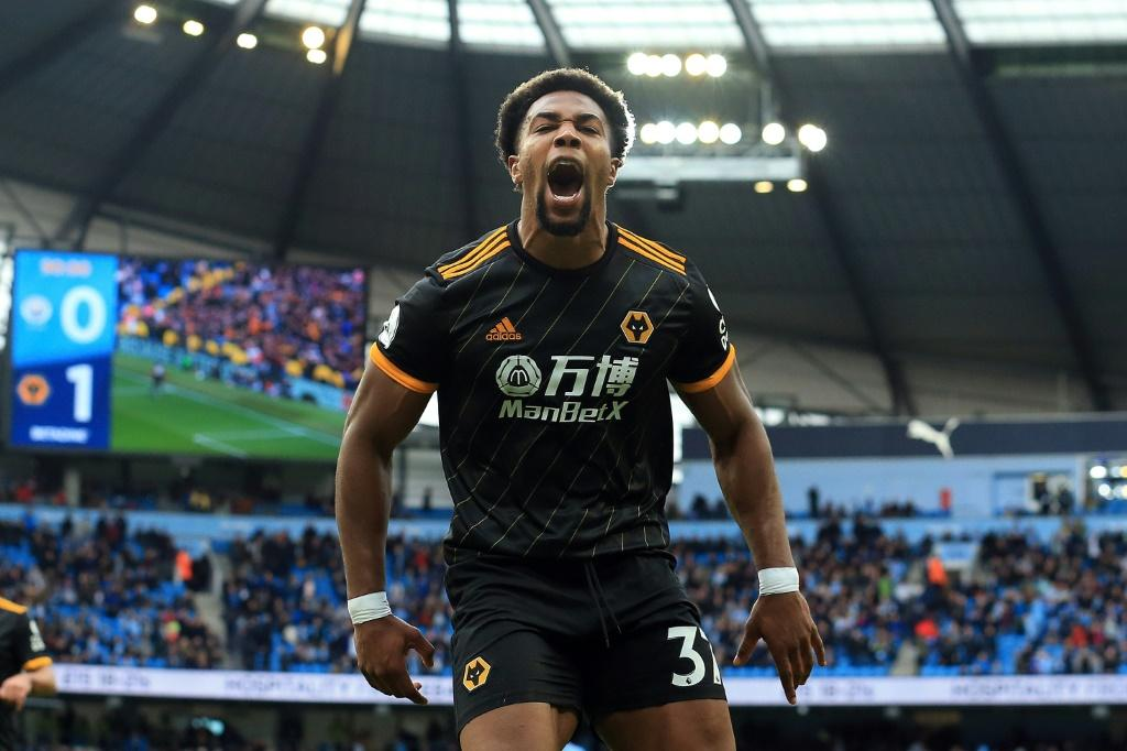City's Traore trouble: Adama Traore scored both Wolves' goals in a 2-0 win at Manchester City