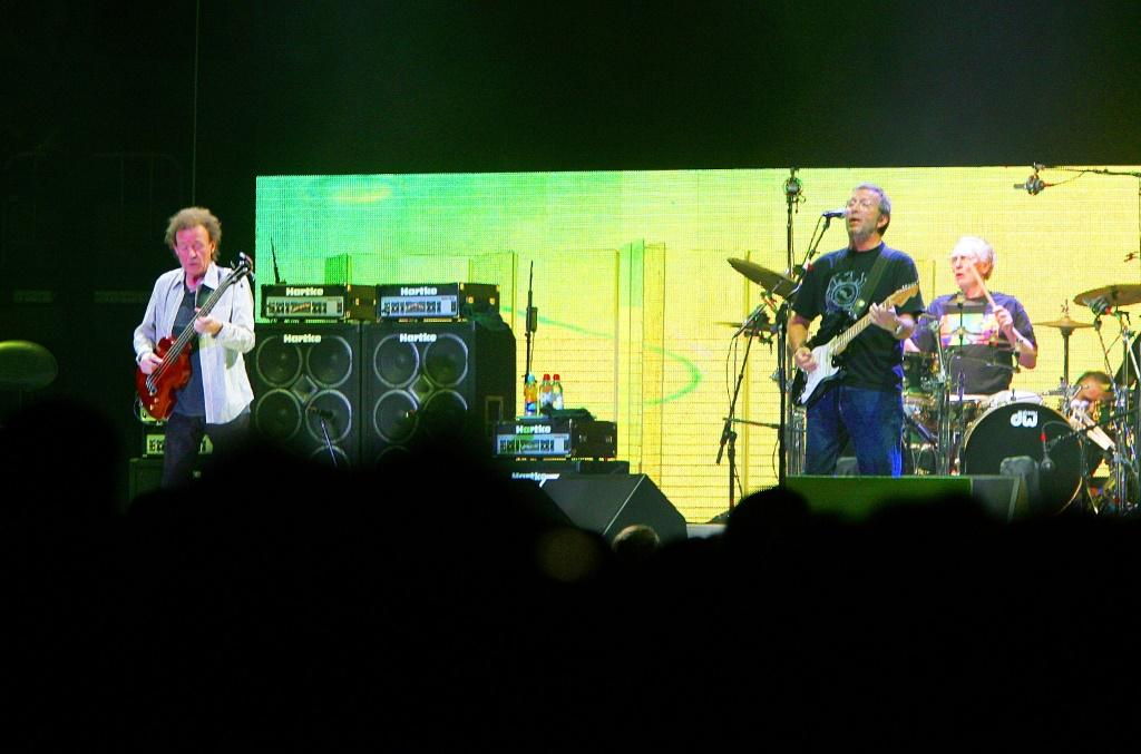 Clapton -- seen with Cream bandmates Jack Bruce and Eric Clapton at Madison Square Garden in October 2005 -- was considered one of the most innovative and influential drummers of his generation