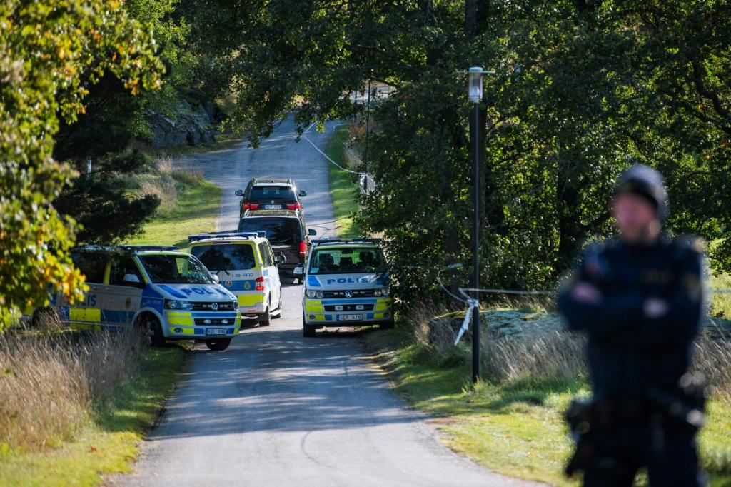 Security was tight for talks between the US and North Korea in Sweden