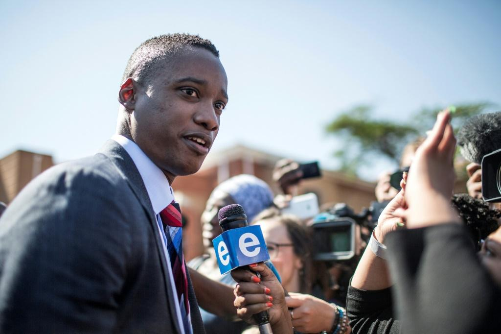 "Duduzane Zuma, pictured last year, has testified before a judicial inquiry probing allegations that his father organised a systematic plunder of government coffers in a scandal known as ""state capture"