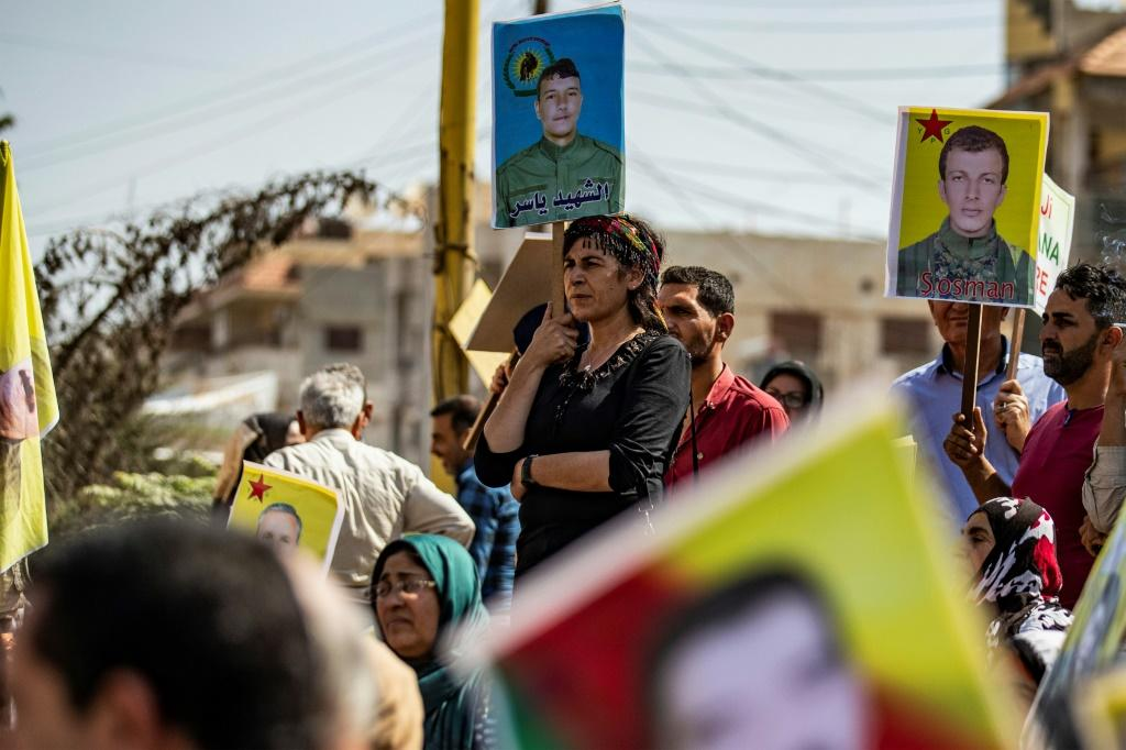 The SDF says 11,000 Kurdish fighters were killed in five years of war to eliminate IS in Syria