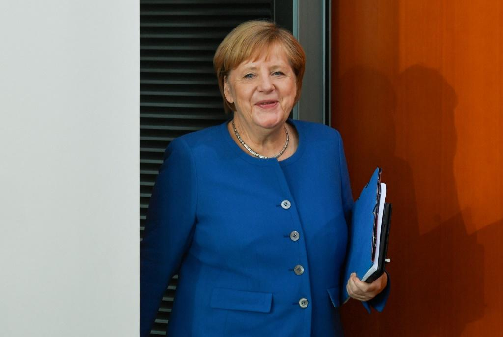 Merkel's office said it would not comment on 'confidential discussions'