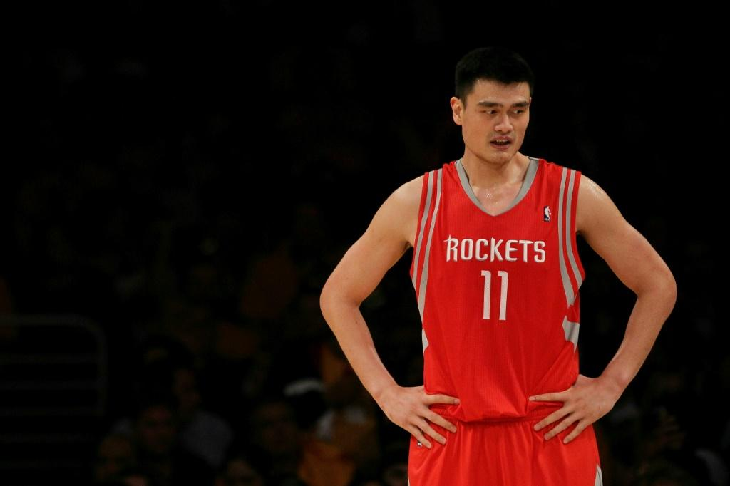 The Rockets have had a huge following in China since signing Yao Ming in 2002