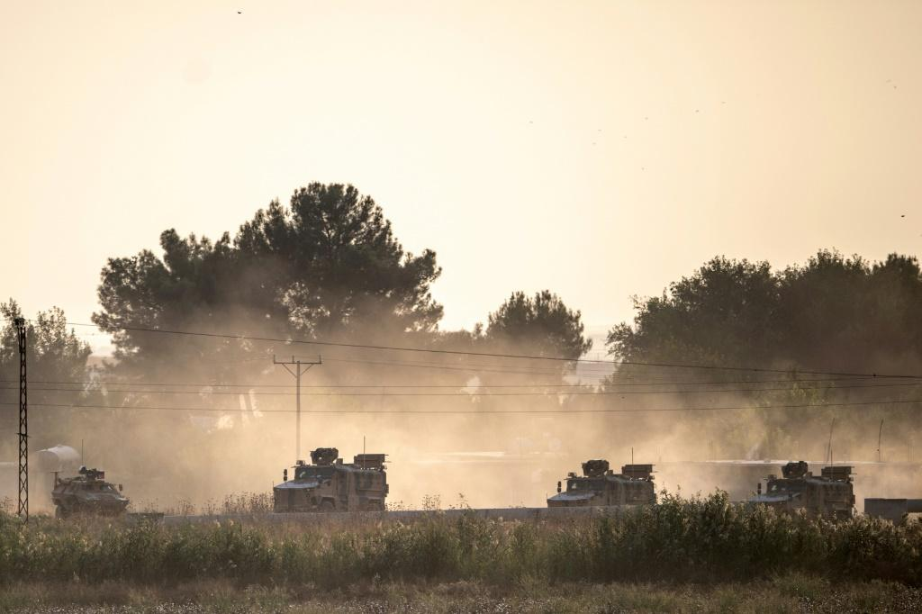 Governments have voiced concern over the Turkish military's assault on Syria