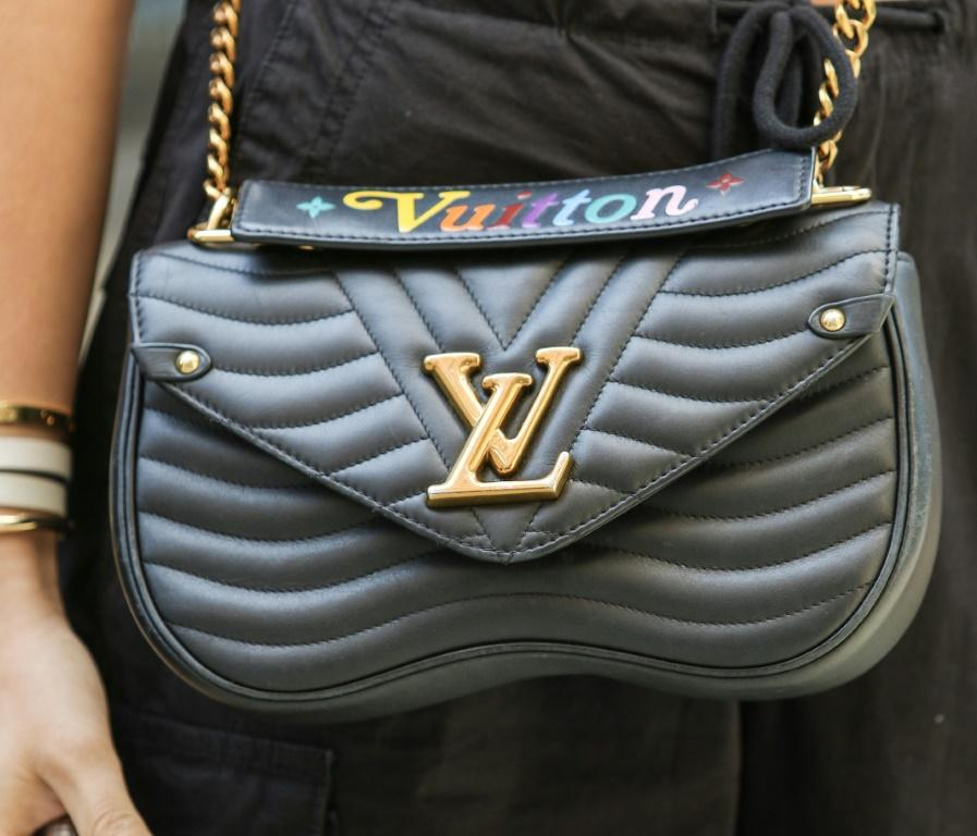 LVMH's sales of leather goods and fashion jumped by 22 percent in the first nine months of the year