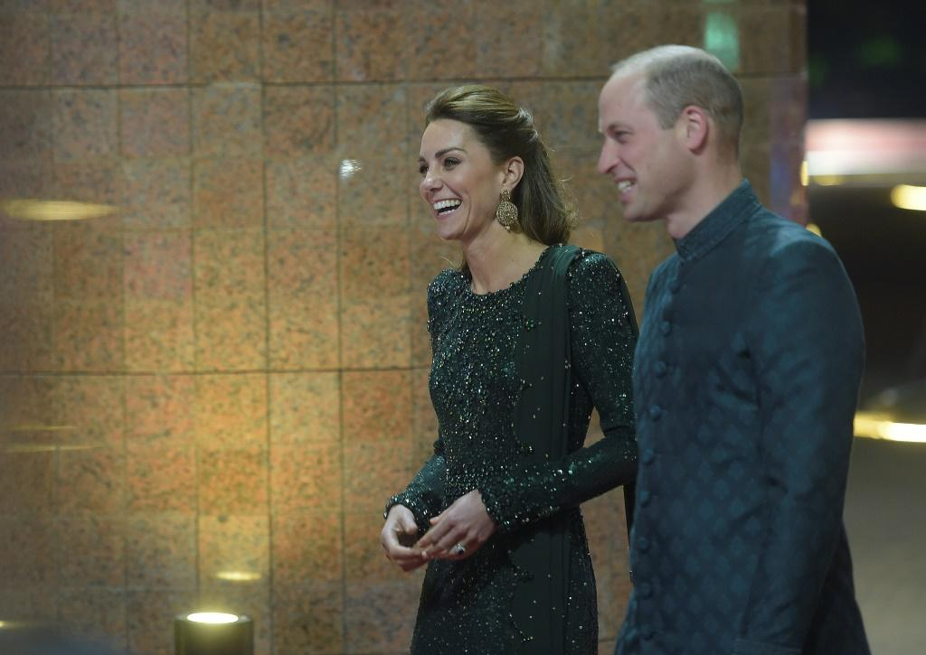 Kate and William are the first British royals to come to Pakistan since William's father Charles visited with his wife Camilla in 2006