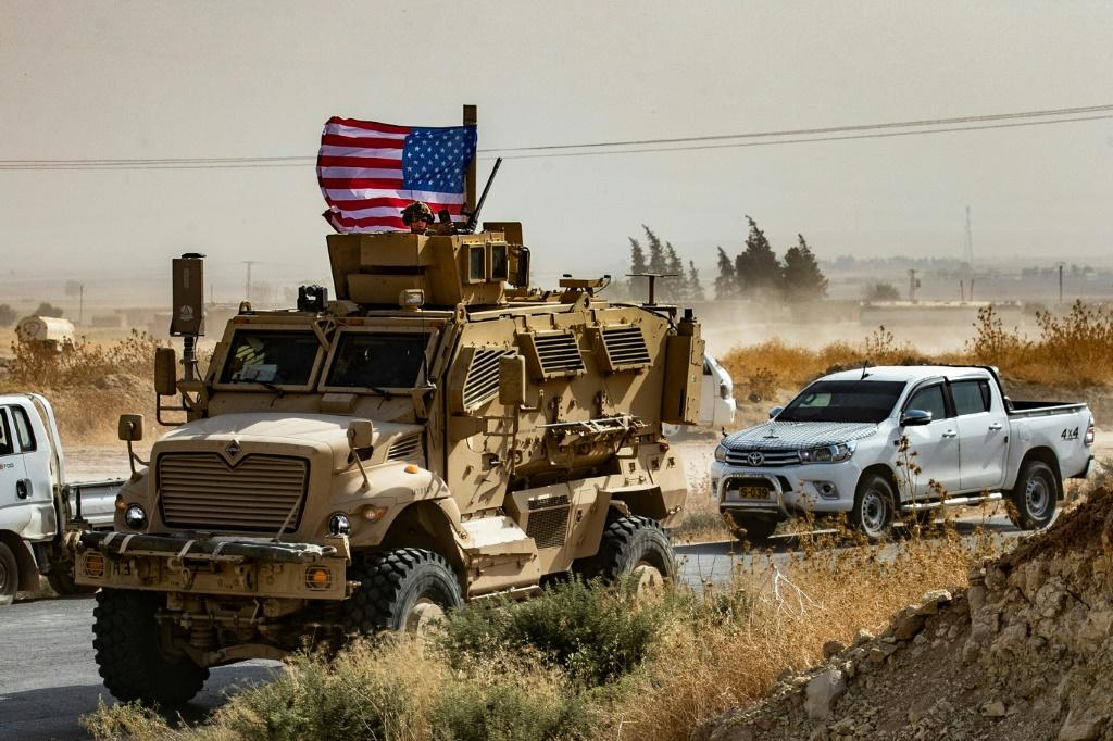 US troops are pulling out of northeastern Syria