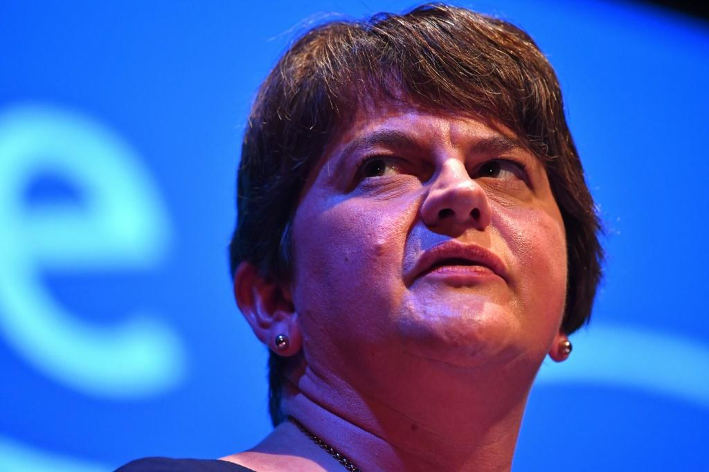 Democratic Unionist Party leader Arlene Foster has met Boris Johnson several times this week and scoffed at previous reports she was ready to agree to his plan
