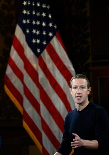 Facebook founder Mark Zuckerberg was in Washington as G7 ministers prepare to release a report about the social network's plan to release a digital currency