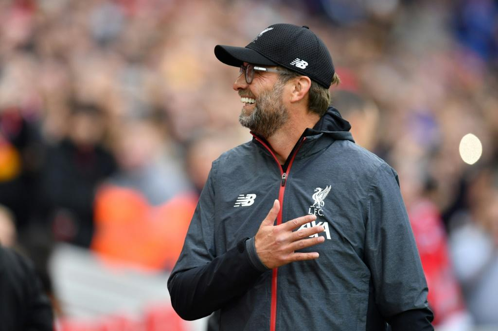 Liverpool manager Jurgen Klopp is aiming to win for the first time at Old Trafford