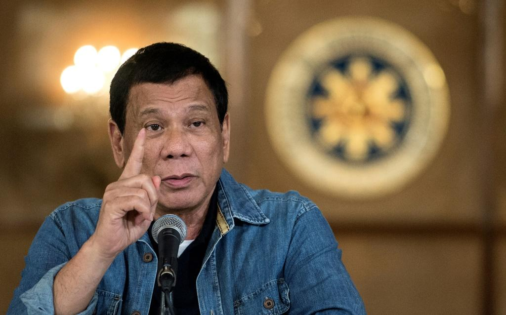 Philippine's President Rodrigo Duterte was slightly injured in a motorcyle accident at Malacanang Palace, aides said
