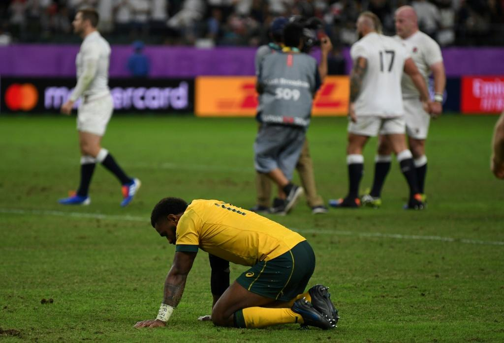 England extended their winning run over Australia to seven matches, earning them an enticing semi-final against the All Blacks