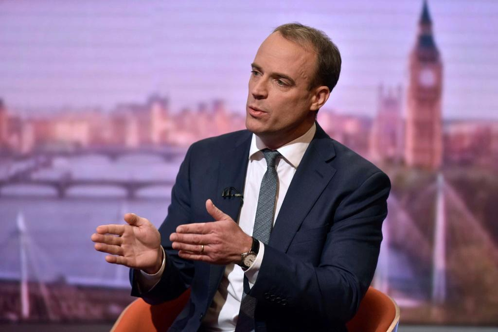 """Britain's Foreign Secretary Dominic Raab says other EU capitals are """"fed up"""" with Brexit"""