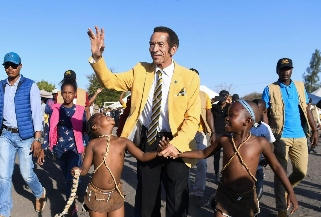 Former president Ian Khama has shaken up the country's traditionally calm politics by dramatically renouncing his hand-picked successor Mokgweetsi Masisi