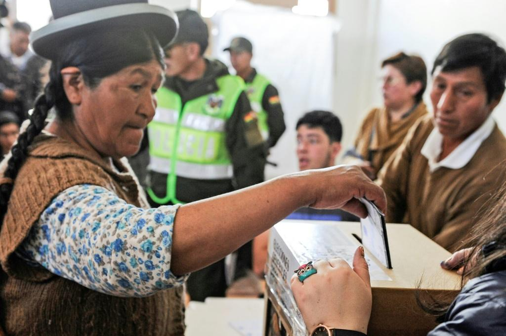 The second round of Bolivia's presidential election will take place on December 15