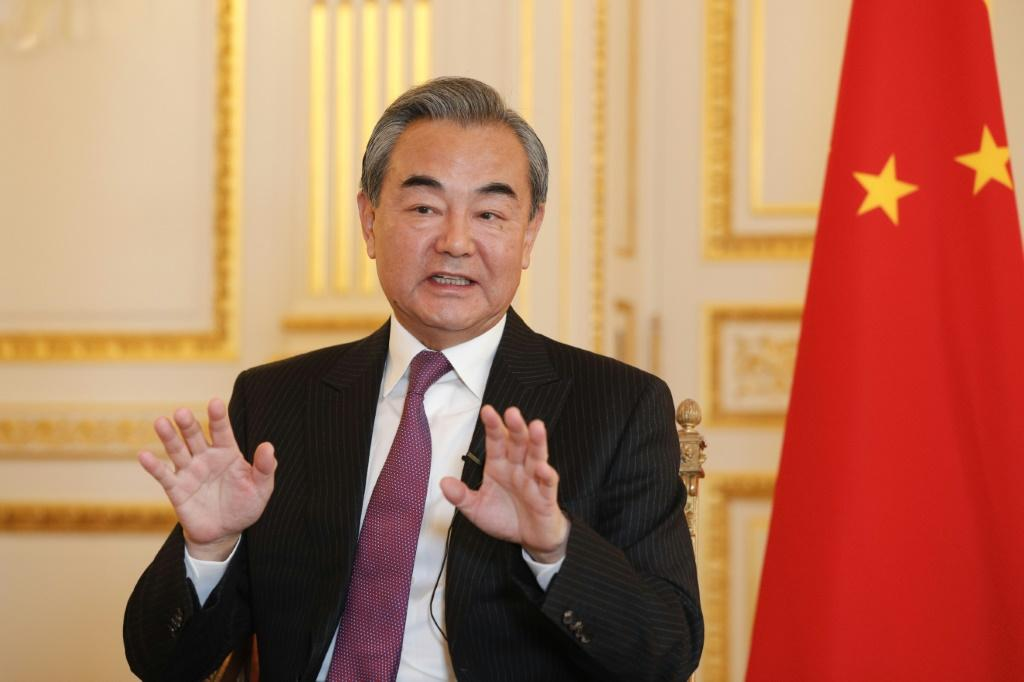Chinese Foreign Minister Wang Yi said Hong Kong's protests were 'unacceptable'