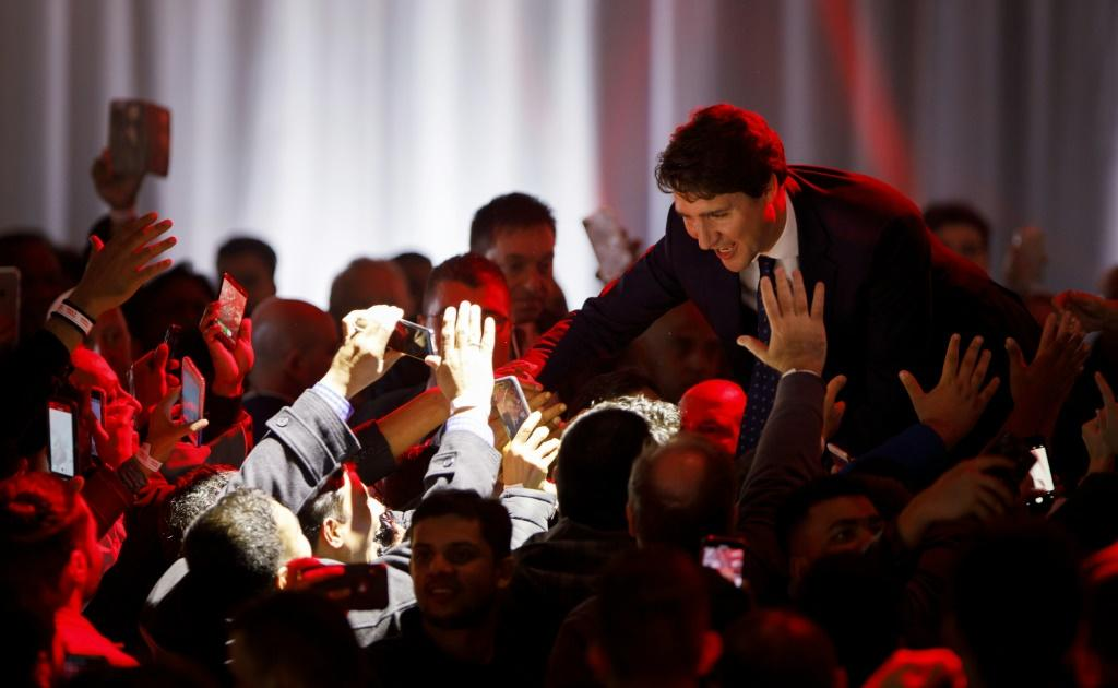 Liberal Leader and Canadian Prime Minister Justin Trudeau will now have to form an alliance with one or more smaller parties in order to govern a fractured nation