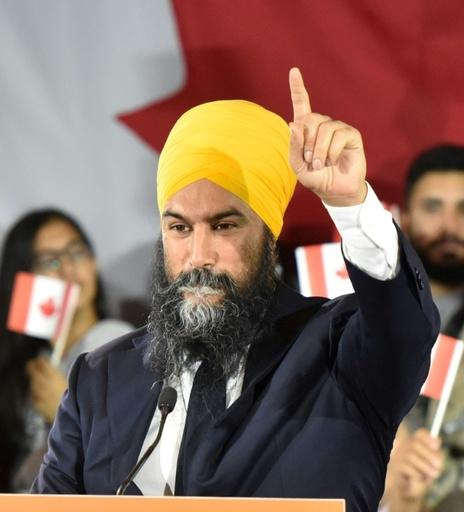 NDP leader Jagmeet Singh, a leftist former criminal defense lawyer, is the first non-white leader of a federal political party in Canada