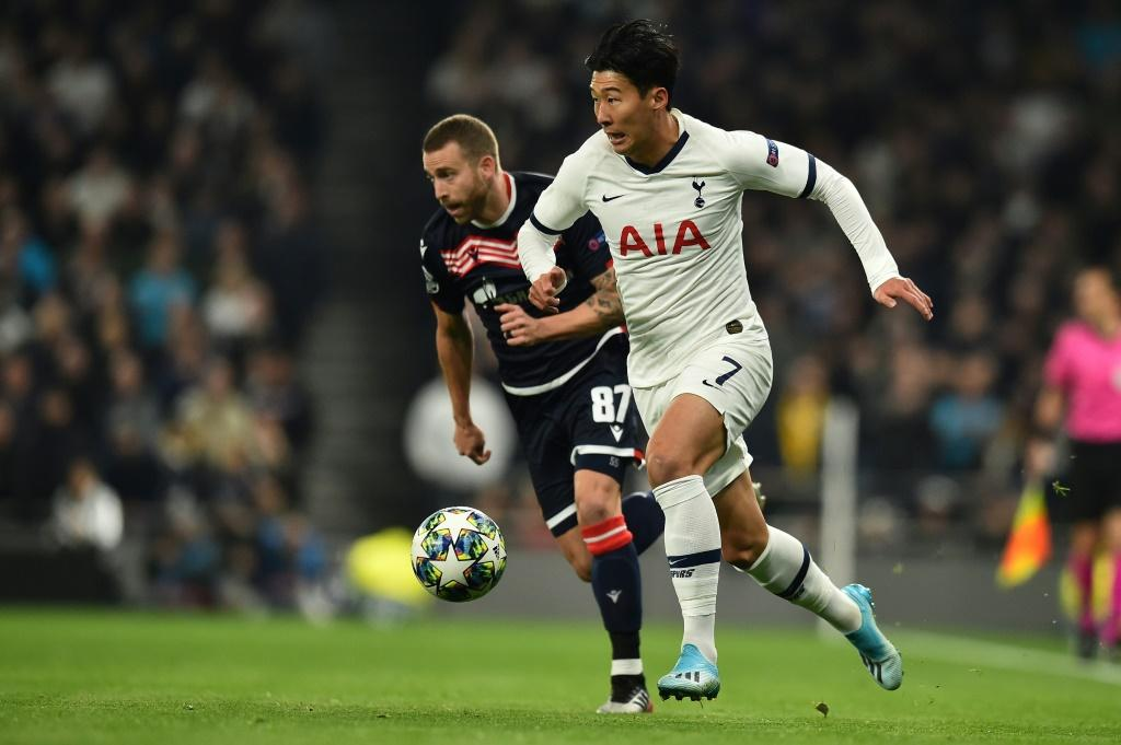 Son Heung-min netted twice, as did Harry Kane, in Tottenham's 5-0 defeat of Red Star Belgrade