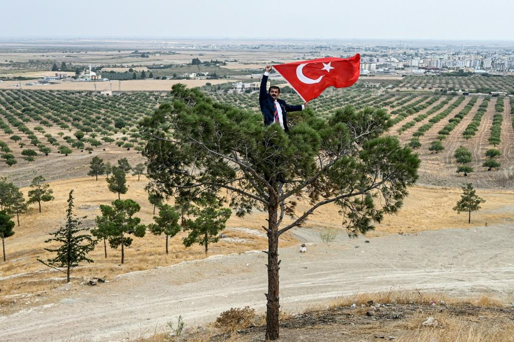 Turkey launched its offensive on October 9