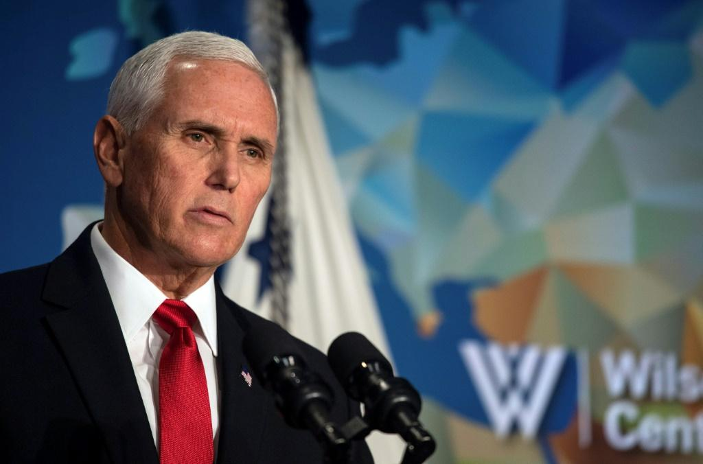 Vice President Mike Pence speaks on US relationship with China at Woodrow Wilson International Center for Scholars