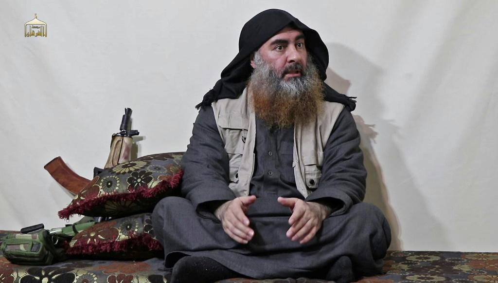 Islamic State group chief Abu Bakr al-Baghdadi appears for the first time in five years in a propaganda video released by the group in April 2019