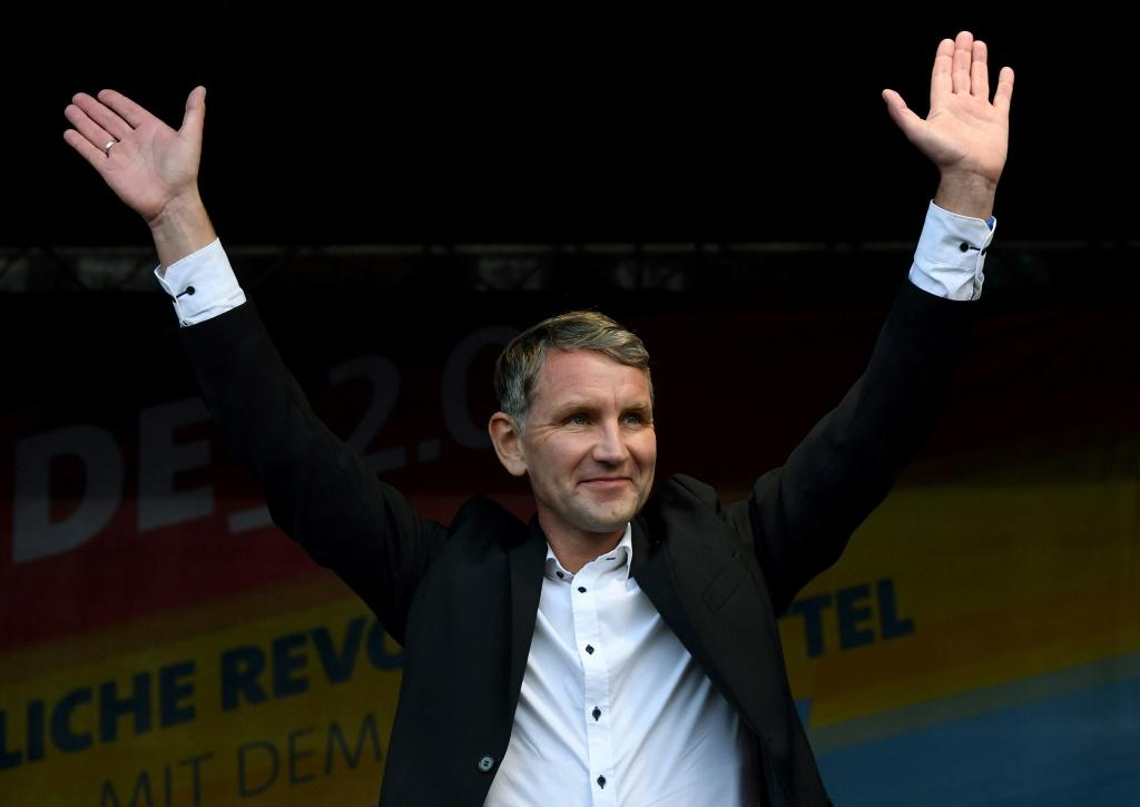 Hoecke has been heavily criticised over his radical speeches