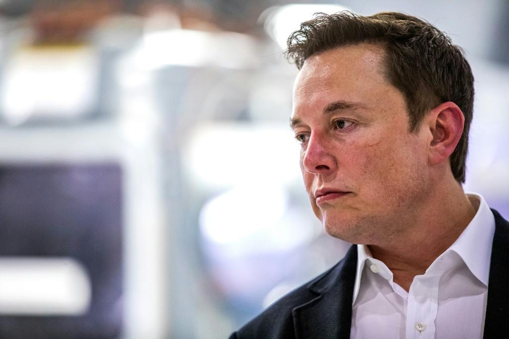 "Elon Musk, pictured on October 10, posted on Twitter that he is ""going offline"
