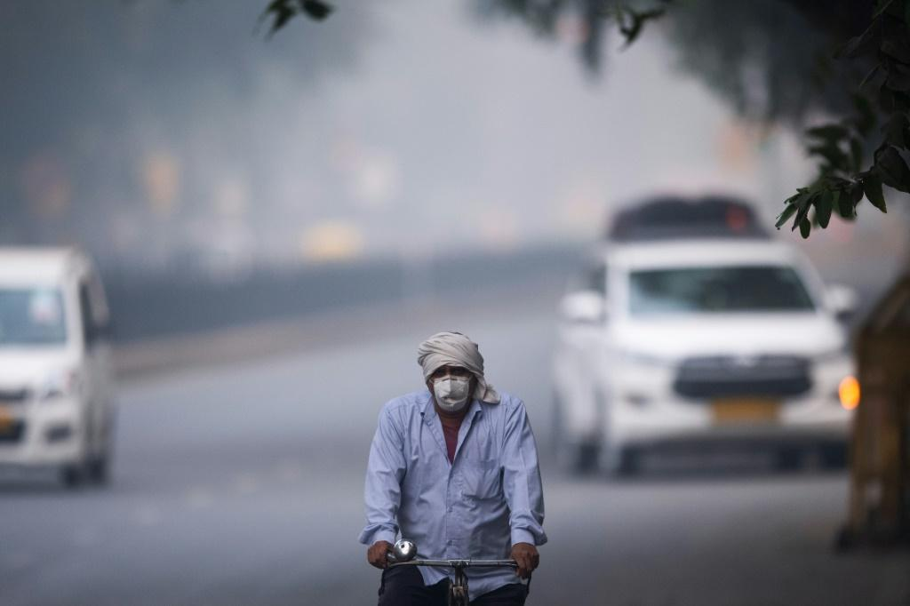 A poisonous haze envelops New Delhi every winter, caused by vehicle fumes, industrial emissions and smoke from agricultural burning in neighbouring states