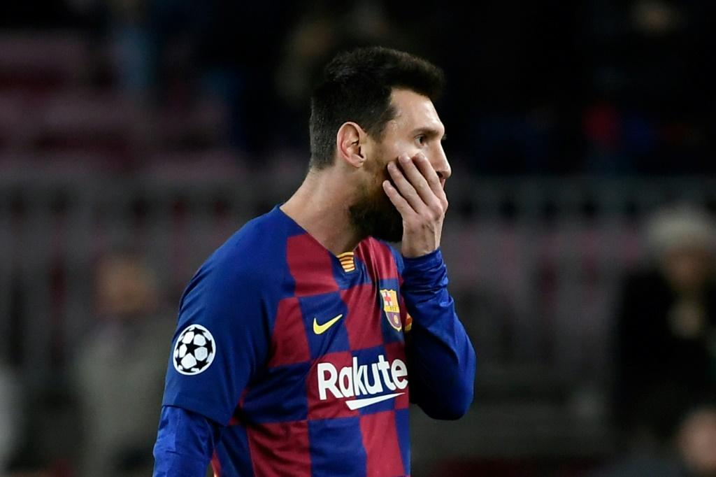 Lionel Messi almost scored a breathtaking goal but Barcelona were held to a frustrating draw by Slavia Prague