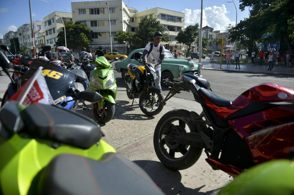 Authorities estimate there are 210,000 electric motorcyles in use in Cuba
