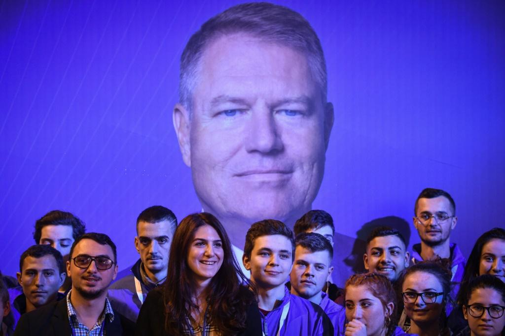 Iohannis is running for a second term and is the leading contender