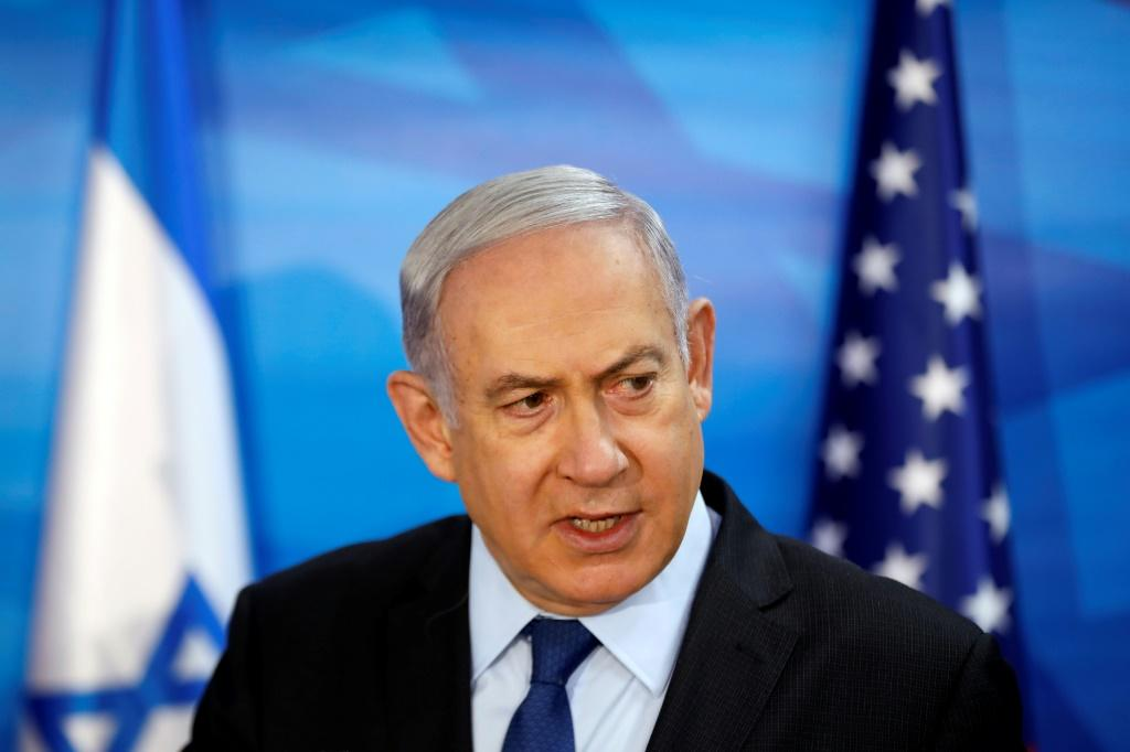 Israeli Prime Minister Benjamin Netanyahu, pictured October 28, 2019, so far has failed to form a coalition after a September 17 poll