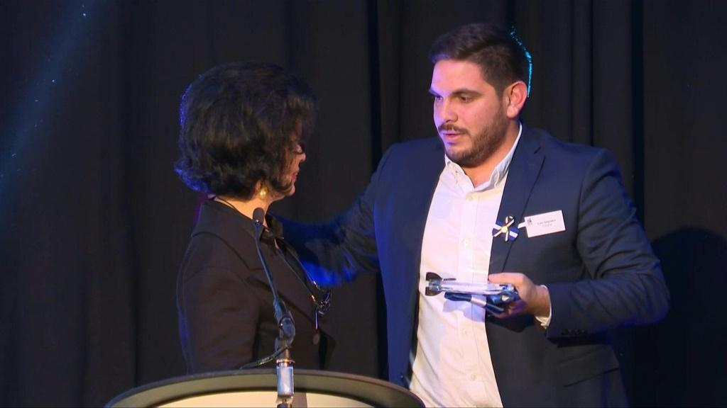 Nicaraguan journalist Luis Sequeira wins the prestigious Rory Peck Award, which honours freelance photo and video reporters, for his AFP coverage of recent violence that has gripped his homeland