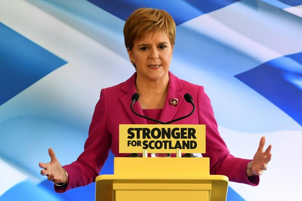 Scotland's First Minister, Nicola Sturgeon launches the SNP's election campaign