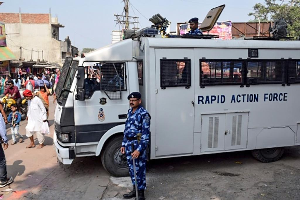 So far, hundreds have been arrested ahead of the Supreme Court ruling on Ayodhya
