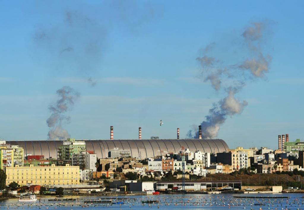 The Taranto steel plant in southern Italy is the largest, single-site integrated plant in Europe