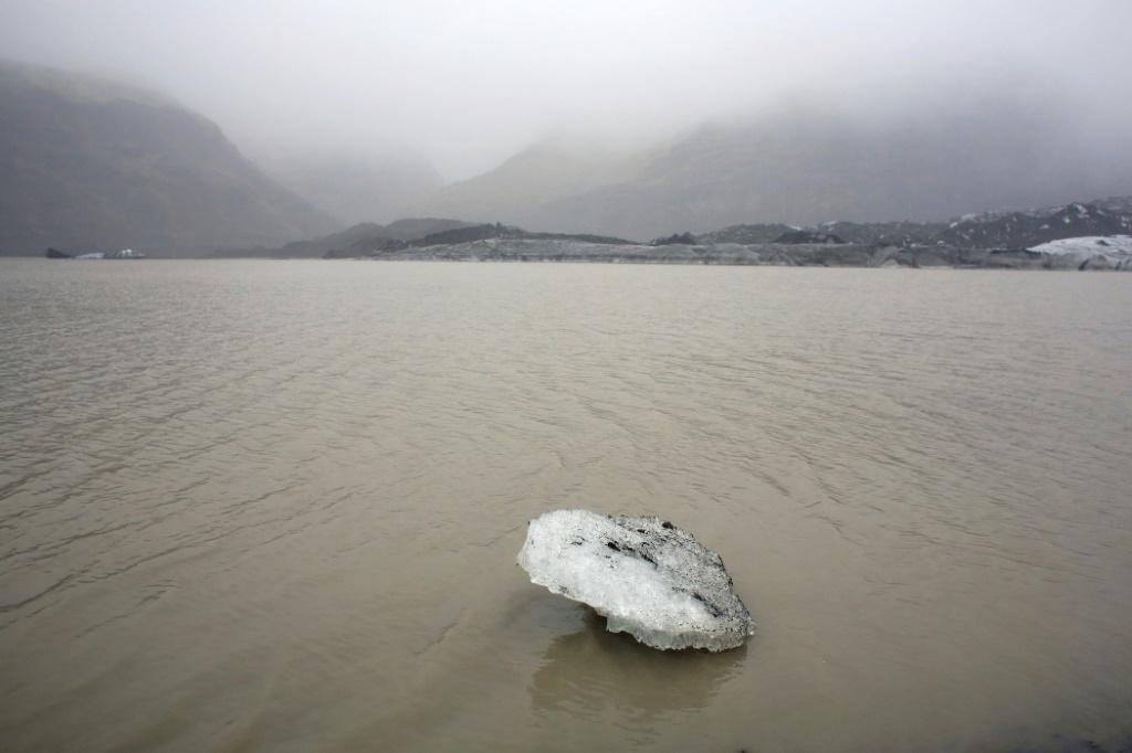 Glaciers cover about 11 percent of Iceland's surface