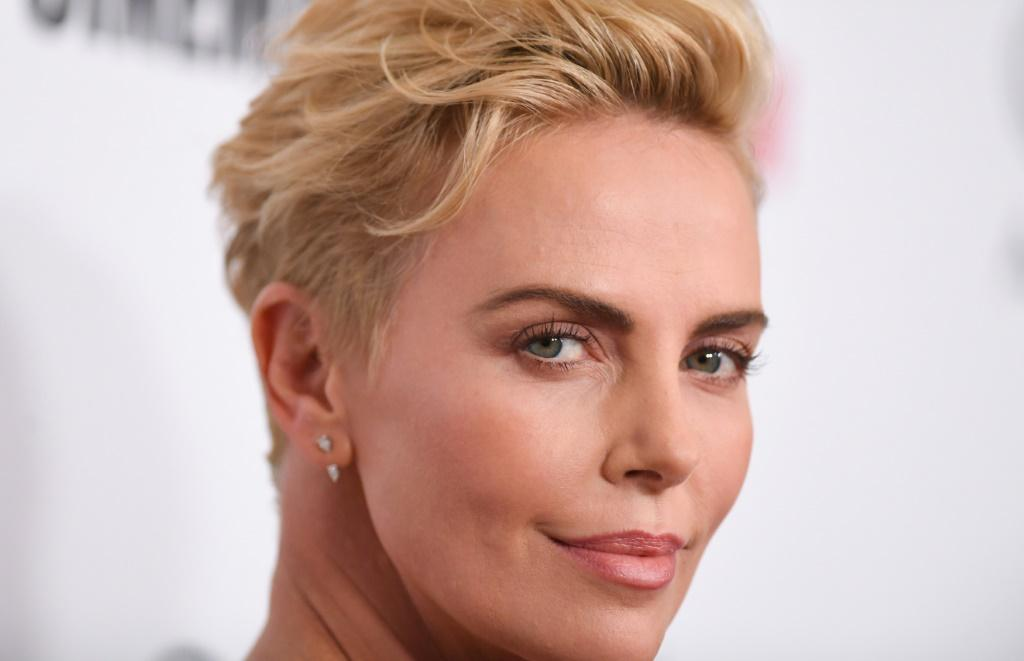 South African Oscar-winner Charlize Theron collected the 33rd annual American Cinematheque Award at a Beverly Hills gala