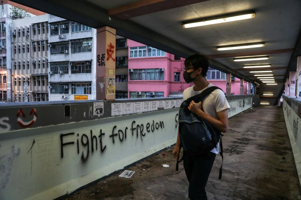 Hong Kong has been hit by some of the worst violence in more than five months of protests