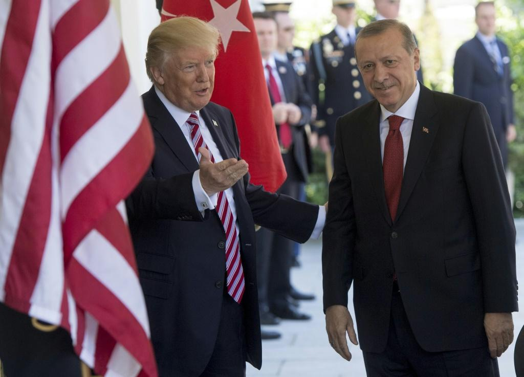 US President Donald Trump gets along with Turkish President Recep Tayyip Erdogan, but controversies are piling up