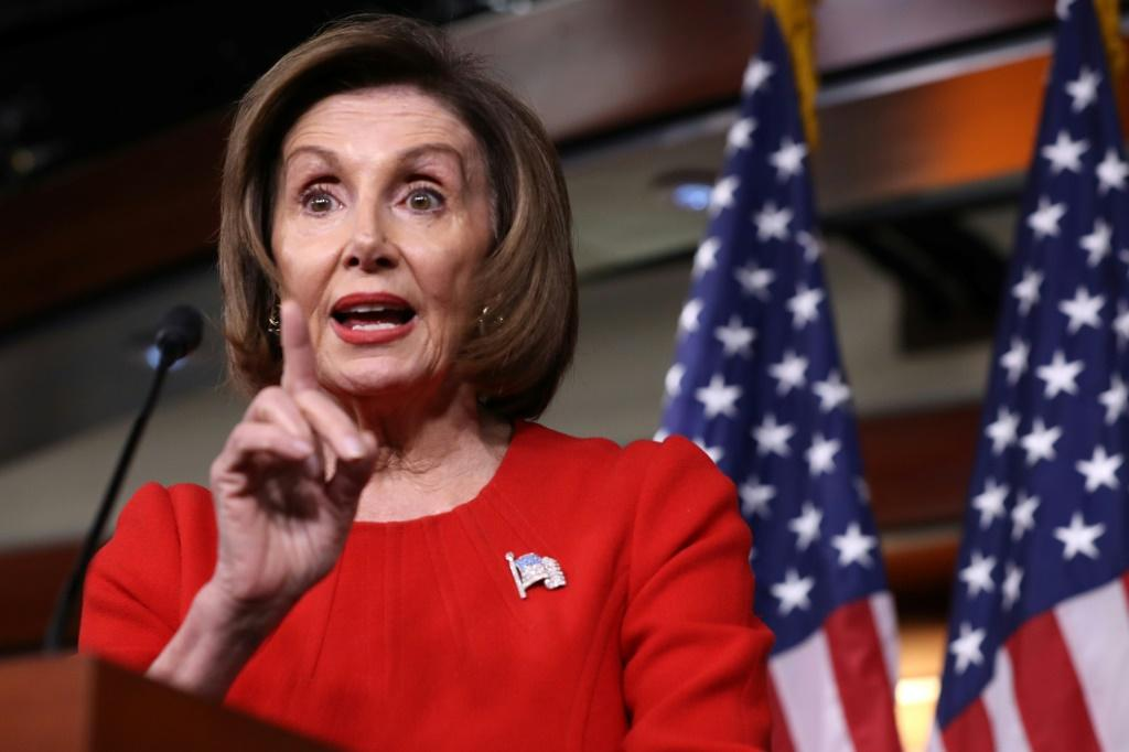 Nancy Pelosi, the Democratic speaker of the House of Representatives, accused Republicans of seeking to divert attention from the core impeachment accusations against President Donald Trump