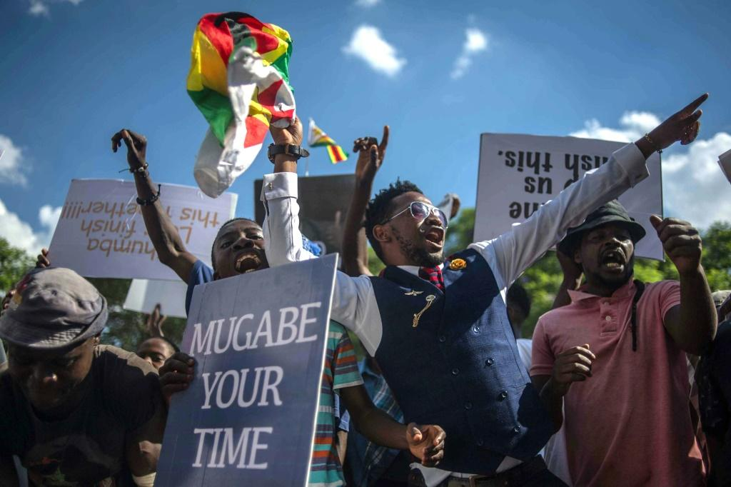 Popular protests helped end the iron-fisted rule of Robert Mugabe, who steered Zimbabwe since its 1980 independence