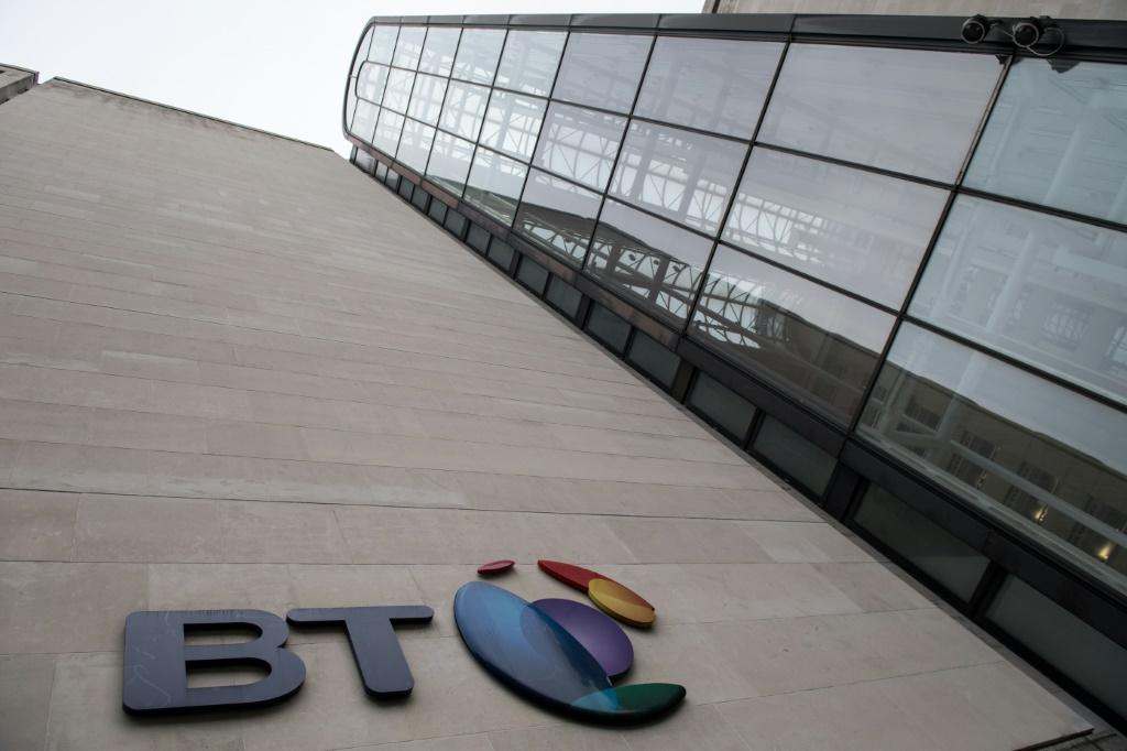 A steep fall in BT shares weighed on London stocks