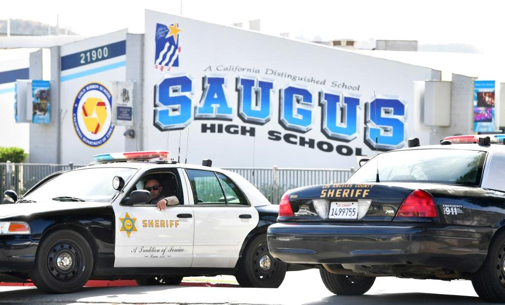 Saugus High School remains closed a day after the shooting
