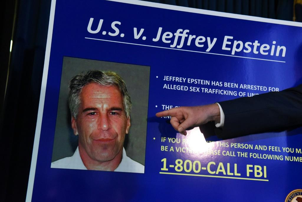 US financier Jeffrey Epstein was arrested in New York in July on charges of trafficking underage girls for sex