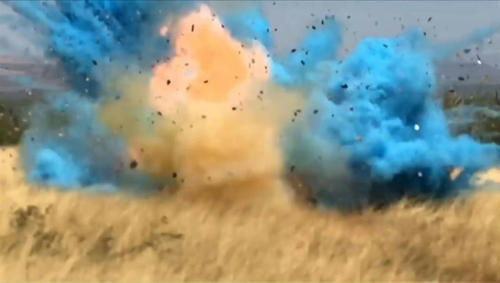 A border guard accidentally started a giant fire in Arizona in 2017 at a gender reveal party by shooting at a homemade target made with a highly explosive product