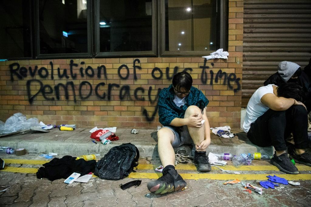 China has previously expressed anger at US lawmakers' vote to back rights and democracy in Hong Kong