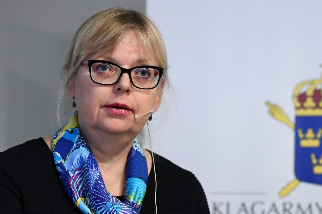 "Sweden's deputy director of public prosecutions Eva-Marie Persson said the Assange case had been dropped despite its ""credible"" claims"